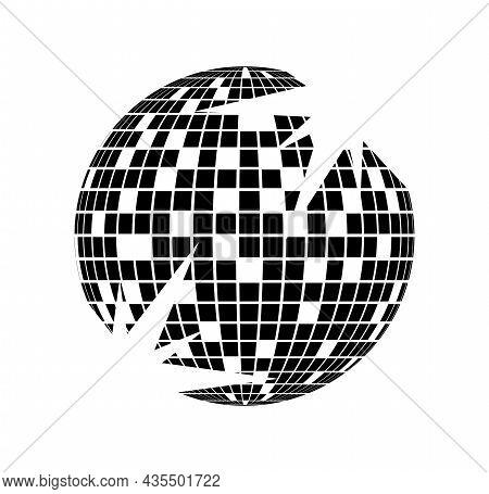 Disco Ball Vector Icon Disco Ball Vector Icon Disco Ball Vector Icon
