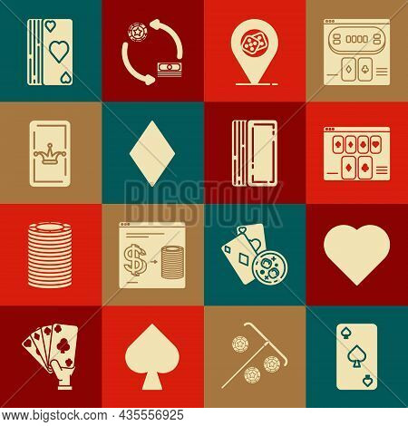 Set Playing Card With Spades Symbol, Heart, Online Poker Table Game, Casino Location, Diamonds, Joke