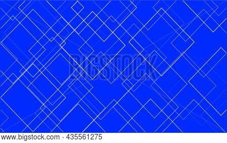 Linear Square Diamond Shape Geometric Background. Clean Design Vector Illustration