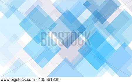 Square Diamond Shape Geometric Background. Clean Design Vector Illustration
