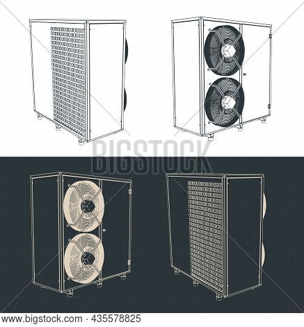 Outdoor Unit Of Air Conditioner