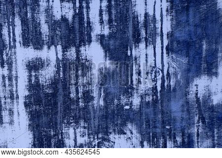 Fantastic Blue Old Shabby Natural Wooden Board Texture - Abstract Photo Background