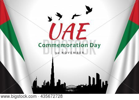Commemoration Day Of The United Arab Emirates, Martyr's Day.