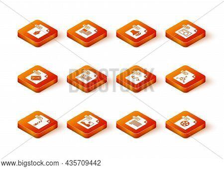 Set Zip File Document, Jpg, Msg, Doc, Txt, Html, Avi And Obj Icon. Vector