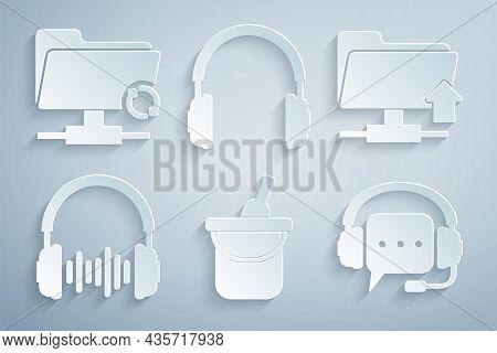 Set Bottle Of Wine In Bucket, Ftp Folder Upload, Headphone And Sound Waves, Headphones With Speech B