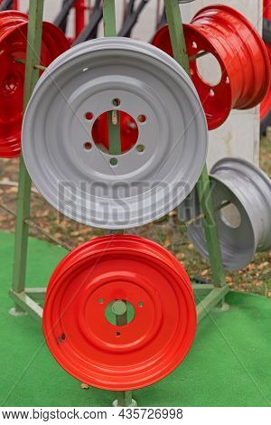 New Metal Rims For Tractor Trailer Agriculture Machines