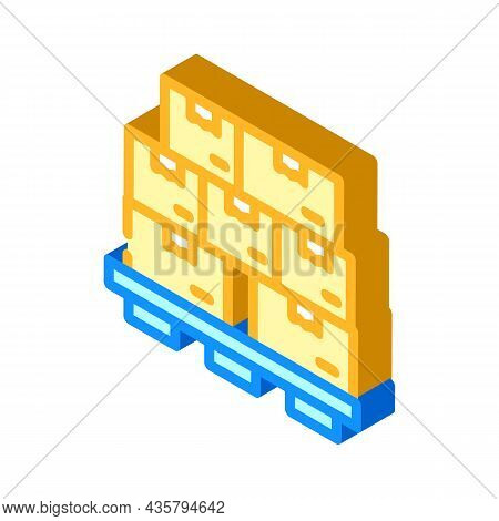 Product And Service Isometric Icon Vector. Product And Service Sign. Isolated Symbol Illustration