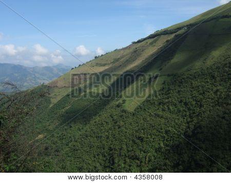 Hills Outside Of Quito, Ecuador