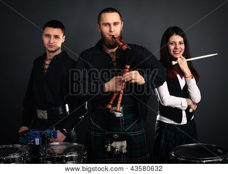 Scottish Musical Band