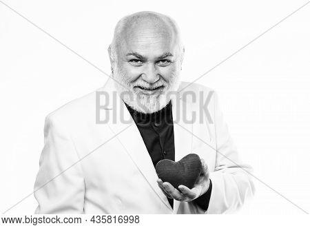 Gentleman Concept. True Gentleman. Well Groomed Handsome Bearded Man Wear Tuxedo. Romance And Dating