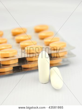 Suppositories Tablet And Blister Pack