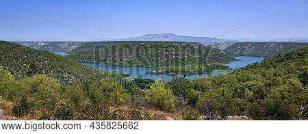 National Park Krka. Skradinski Buk In Croatia.