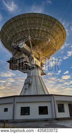Super Secret Soviet Radio Telescope Near Abandoned Military Town Irbene In Latvia. Army Space Spying