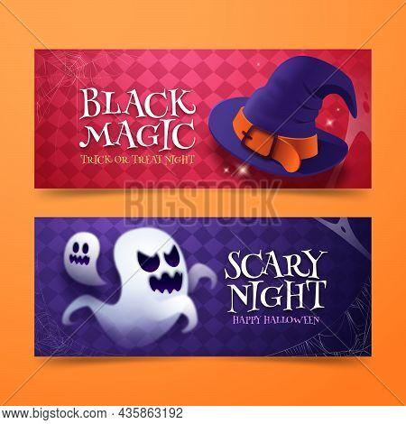 Realistic Halloween Banners 1