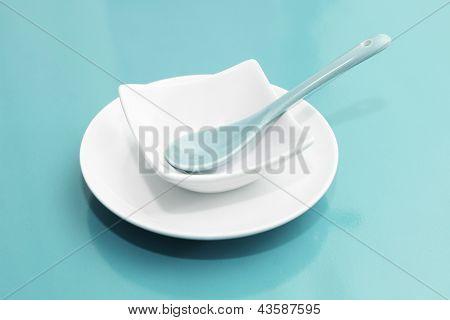 Empty Plate Setting
