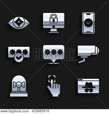 Set Password Protection, Fingerprint, Browser Incognito Window, Security Camera, Flasher Siren, Smar