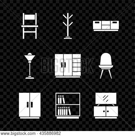 Set Chair, Coat Stand, Furniture Nightstand, Wardrobe, Library Bookshelf, Tv Table, Floor Lamp And I