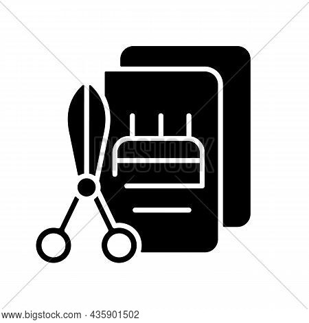 Talent For Crafts Black Glyph Icon. Tools For Handicraft. Craftsmanship Art. Do It Yourself. Decorat
