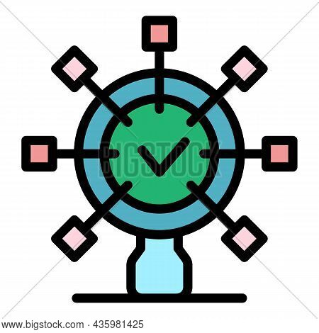 Benefits Product Icon. Outline Benefits Product Vector Icon Color Flat Isolated