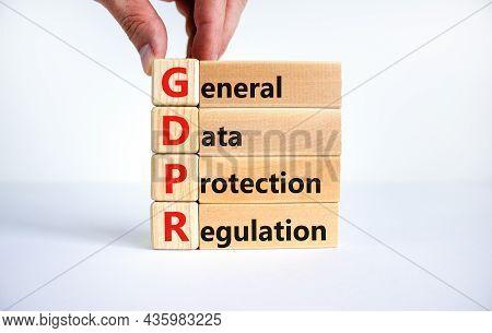 Gdpr General Data Protection Regulation Symbol. Concept Words 'gdpr General Data Protection Regulati