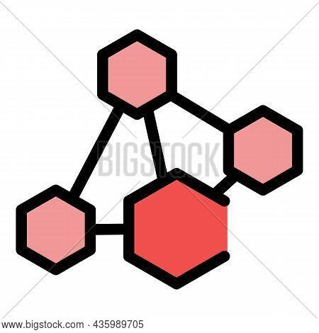 Serotonin Hormones Icon. Outline Serotonin Hormones Vector Icon Color Flat Isolated