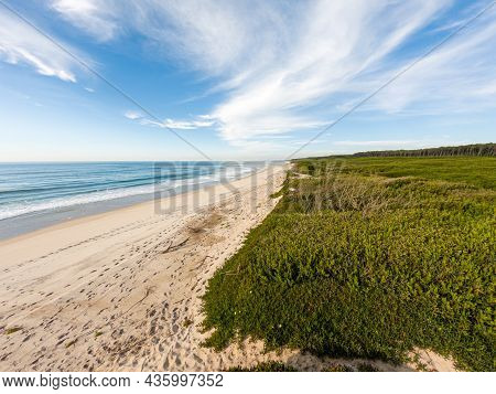 Landscape Of Sao Geraldo Beach In Maceda, Ovar - Portugal.