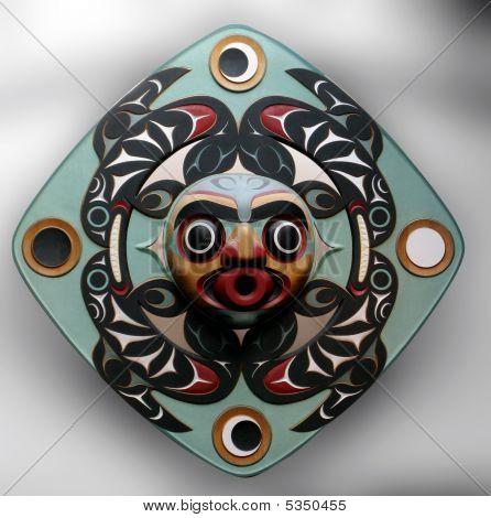 Native Statue Mask