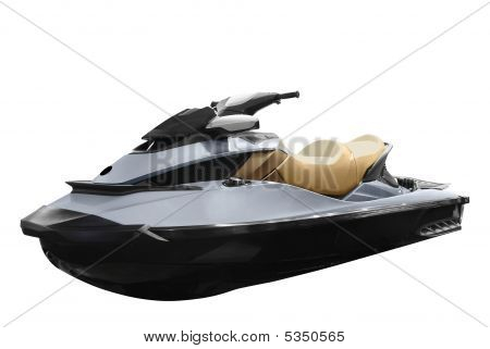 Jetski Isolated