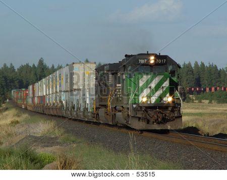 Westbound BNSF Stack Train