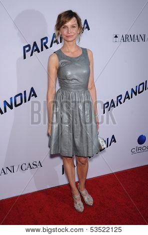 LOS ANGELES - AUG 08:  Calista Flockhart arrives to