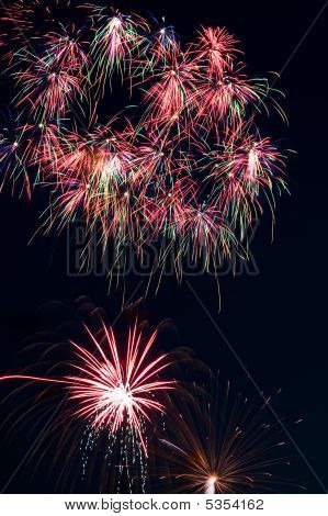 Fourth Of July Holiday Fireworks Celebration Display poster