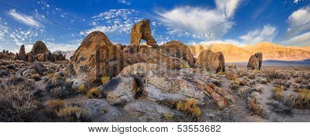 Boot Arch at Alabama hills, California