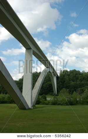 Natchez Trace Double Arch Bridge