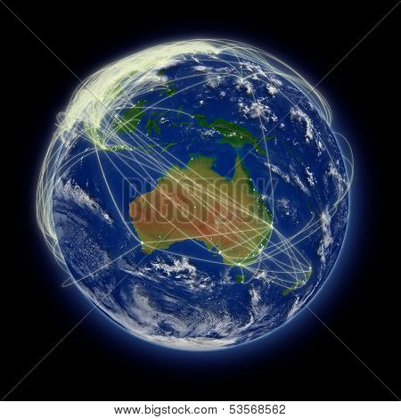 Network Over Australia