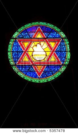 Star Stained Glass2