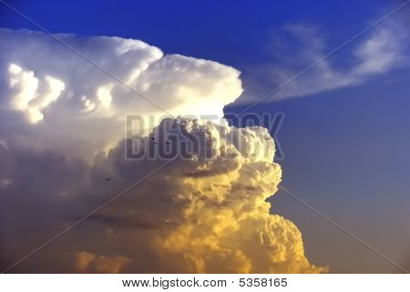 Clouds On Sunset