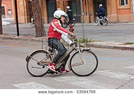 Roller Motor Bicycle Garelli Mosquito