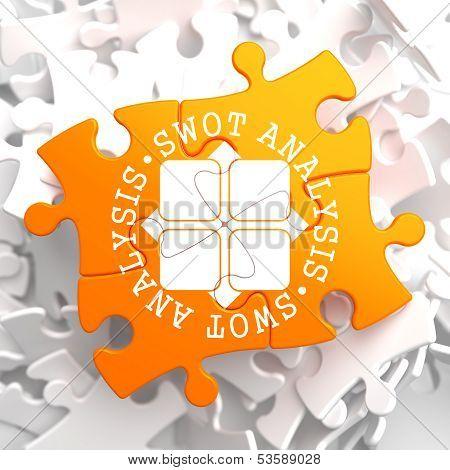 SWOT Analisis on Orange Puzzle.