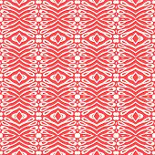 Simple, elegant linear seamless vector pattern in tropical coral red.  Texture for web and print, spring fashion fabric poster