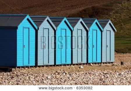 Uniformed Beach Huts