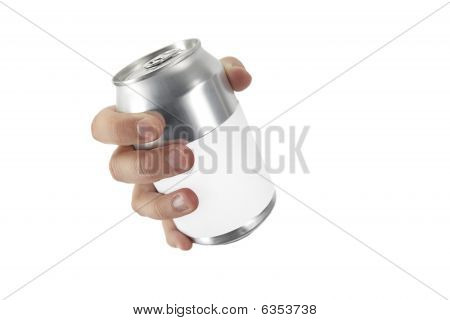 Hand With A Can