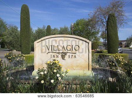 Villagio Inn and Spa in Yountville