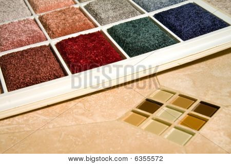 Carpet Colors And Tiles