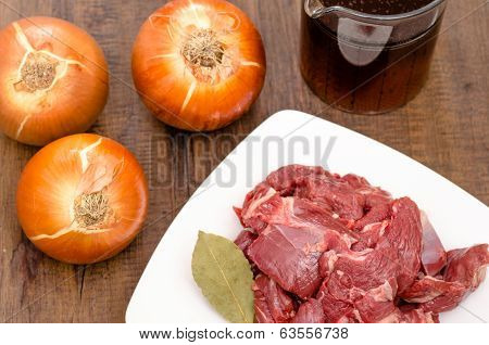 Condiments For Venison Of Deer
