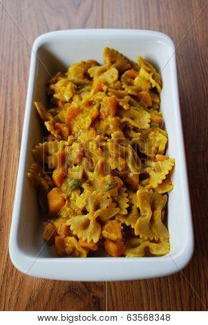 Pasta With Pumpkin