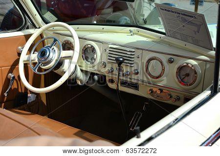1937 Oldsmobile Interior