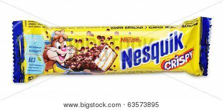 Nesquik Crispy Chocolate Candy Bar
