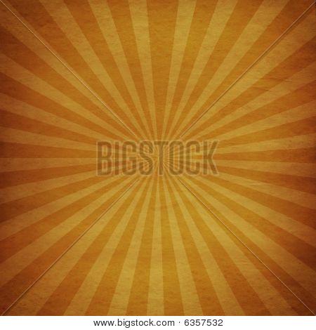 Vintage sunburst