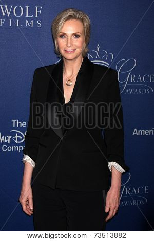 LOS ANGELES - OCT 8:  Jane Lynch at the Princess Grace Foundation Gala 2014 at Beverly Wilshire Hotel on October 8, 2014 in Beverly Hills, CA