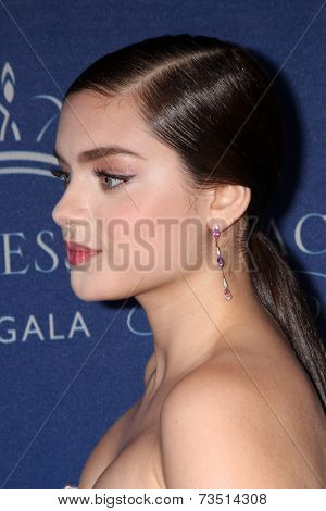 LOS ANGELES - OCT 8:  Odeya Rush at the Princess Grace Foundation Gala 2014 at Beverly Wilshire Hotel on October 8, 2014 in Beverly Hills, CA